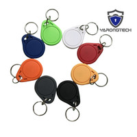 Wholesale proximity door - YARONGTECH MIFARE Classic® 1K RFID ISO14443A 13.56MHZ Tag HF Door Entry Access Control keychain -100pcs