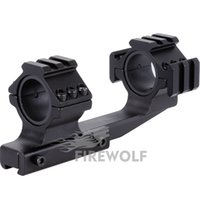 Wholesale Double Ring Rifle - 1pc B Double Ring Alloy Rifle LLL Scope Moun Rings Mounts 30  25.4 mm Dia 11mm Dovetail Hunting Accessories