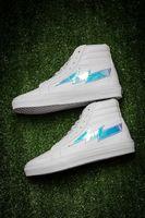 Wholesale H Shoes Men - Men Retro Lightning Revenge X Storm SK8-H Classic Black Skate Board Shoes,Women kanye West Winter Boot White Suede High Top Sneakers 36-44