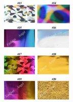 Wholesale Symphony Transfer Foil Nail Sticker - Art Stickers Decals 50Designs 25pcs Symphony Nail Foil Sticker Star Style Art Polish Transfer Decal DIY Beauty Craft Nail Decorations Sup...