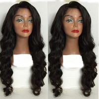 Wholesale Stocking For Body - Best Quality Simulation Human Hair Wigs Body Wave Full wigs for black women in stock