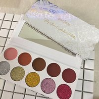 Wholesale Glam Set - Latest Makeup Palette Glamierre Glitzy Glam Eyeshadow Palette 5 colors Glitter 5 Colors Cream Matte eyeshadow DHL Free shipping