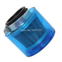 Wholesale Air Filter For Atv - 38mm High Performance Air Filter for 110 125 220cc ATV Dirt Bike Pit Bike Splash Proof Blue Plastic Cover