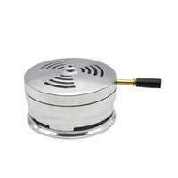 Wholesale Stove For Heating - New Hot 1 PC Metal Heat Treatment Hookah Shisha Head Accessories Charcoal Holder Stove Burner Heat Keeper Metal Handle for Bowl