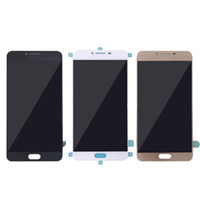Wholesale Lcd Screen Display For C7 - For Samsung C7000 cell phone lcd display Touch Screen Digitizer For Samsung C7 pro best high quality Free shipping