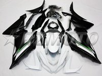 Wholesale 13 Motor - New Aftermarket Motor ABS Injection Fairing Kit Fit For kawasaki Ninja ZX6R 599 636 13-16 ZX-6R 2013 2014 2015 bodywork matte black white