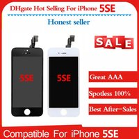 Wholesale Factory Replacement Parts - factory Price Wholesale Touch Screen Digitizer Replacement Parts For IPhone 5se Lcd Replacement Top Quality AAA For IPhone 5Se
