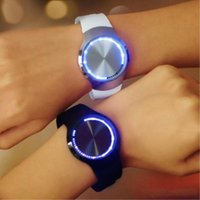 Wholesale Kind Girls - All Kinds of Design World Popular LED Touch Screen Digital Wristwatch Wrist Watches For Fashion Boy and Girl Best Gifts