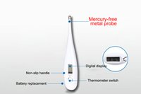Wholesale Mercury Thermomete Babycare Kids Electronic Digital Temperature Child Baby Display With HeadEars Forehead Oral Anal Armpit