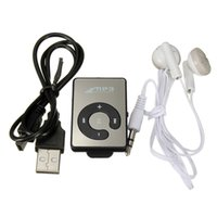 Wholesale Mini Headphone Usb Cable - Wholesale- Top Deals FamilyMall(TM) Mini Music MP3 Player with USB Cable with Headphones Black