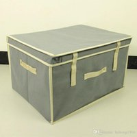 Wholesale Select Cases - Folding Storage Box Clothing Sundries Large Capacity Thicken Top Quality Fabric Durable Delicate Multi Color Select Portable Case 13ch I R