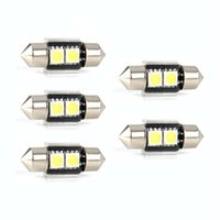 Wholesale Smd 41mm Canbus - New 5x 41mm 8 SMD White Dome Festoon CANBUS Error Free Car 8 LED Light Bulb