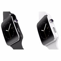 Wholesale Watch X6 - X6 Bluetooth Smart Watch Clock With Camera Support SIM Card Smartwatch For Android relogio inteligente reloj Smartphone Watch