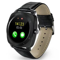 Wholesale Wristwatch Mp3 Player - New Smartwatch X3 Smart Watch Android Fitness tracker Mp3 player Clock Sports Wristwatch SIM Watch for android wearable devices