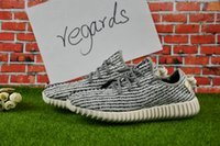 Wholesale Cheap Brands Online - 2017 Cheap Online Wholesale Kanye West 350 Boost Brand Men Running Shoes Retails Wholesale Women Boost 350 Shoes Size 36-46 Sneakers