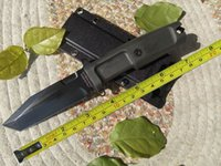 Wholesale Extrema Ratio Survival Knife - FREE SHIPPING EXTREMA RATIO 10'' New ABS Handle 5MM Blade Dagger Survival Bowie Hunting Knife VTH104
