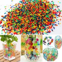 Beaux Perles Crystal Water Beads Ball Flower Plant Crystal Soil Gel Gelée Party Wedding Décor magique Jelly Water Beads GC65
