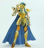 Wholesale Saint Seiya Metal - Metal Club MC Saint Seiya Ex Myth Cloth Metal Gold Aquarius Camus Action Figure Model Kit Cavaleiros do Zodiaco