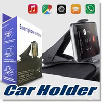 car cradles großhandel-Universal Car Mount Halter Simulieren Design Autotelefonhalter Cradle Einstellbare Dashboard Phone Mount für sicheres Fahren für iPhone 7 7 Plus