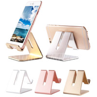 Wholesale Holders Stands Stents - New High Quality Luxury Hot Universal Support Car Metal Mobile Phone Holder for Phone Ipad desktop Stand Multi-purpose Stents