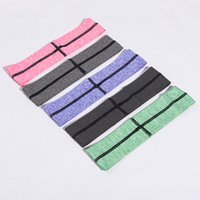 Wholesale Broad Hair Bands - High-end broad-brimmed Yoga with joker Marathon running fitness Absorb sweat hair band Elastic headband