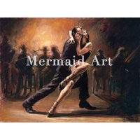 ECO Friendly spanish artists - Artist Handmade tango art Spanish Flamenco Dancing tango Oil Paintings On Canvas Flamenco Dancer wall decor abstract Decorative