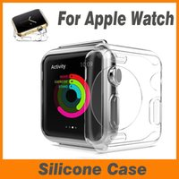 Wholesale Crystal Silicone Case - 38mm 42mm Ultra Thin Slim Transparent Crystal Clear Soft TPU Shockproof Rubber Silicone Cover Case Skin For Apple Watch iWatch Series 1 2 3