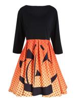 Wholesale Rib Mountain - Tonval Retro Cotton Pleated Skirt High Waist Midi School Skirts Womens Mountain and Elk Print Christmas Vintage Skirt