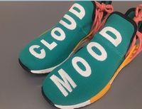 Wholesale Dark Cloud - 2017 New Human Race 1.5 version Sun Glow Cloud Mood Real Boost NMD Runner Pharrell Williams X Running Shoes Size 36-48