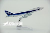 Wholesale Boeing Airlines - Wholesale- Good quality 16 cm length Japan airline Boeing B747 - 200 model best gift for friend