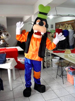 Wholesale Goofy Costume Characters - Goofy dog Mascot Costumes Cartoon Character Adult Sz 100% Real Picture