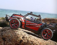 Jouets Pour Automobiles Pas Cher-Wholesale- RC Car 4WD 2.4GHz Rock Crawlers Rallye d'escalade Voiture 4x4 Double Motors Bigfoot Voiture Modèle télécommandé Off-Road Vehicle Toy