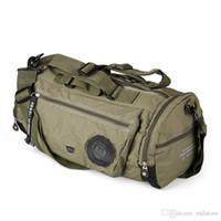 Wholesale plain cloths - 2017 Men Travel Bag Folding Oxford cloth Duffel Bag protects women's portable waterproof leisure travel bags