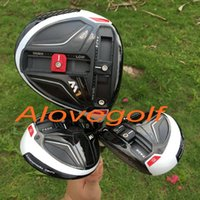 Wholesale Wholesale Driver Shafts - New golf driver 460cc M1 driver 3#5# fairway woods with graphite shaft high quality 3pcs lot golf clubs