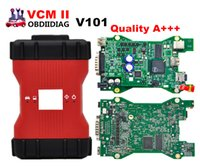 Wholesale vcm ii - A+++ Quality V101 Latest VCM II 2 in 1 IDS Diagnosis tool For Ford&Mazda VCM 2 OBD2 Scanner