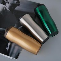 Wholesale Thermos Cup Sales - Hot Sale Double Wall Stainless Steel Coffee Thermos Cups Mugs Thermal Bottle 400 ml Free shipping