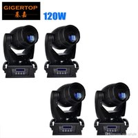 Günstige Preis 4 Pack 120W LED Spot Moving Head Licht DMX DJ Disco Club Bühnenbeleuchtung für Party Q7 High Brightness Tyanshine Power