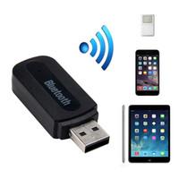 usb bluetooth receiver for car stereo Canada - USB Bluetooth Audio Music Receiver Adapter 3.5mm Stereo Output for Car Home Stereo