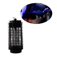Wholesale Wholesale Electric Lanterns - Electric Mosquito Bug Zapper Killer LED Lantern Fly Catcher Flying Insect Patio Outdoor Camping Lamp Portable Lantern Night Light