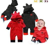 Wholesale Wool Clothing For Babies - 2017 baby romper hoodie, long sleeve jumpsuit, baby romper infant clothing, baby clothing Overalls for children