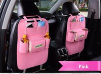 8 Farben Neue Auto Auto Sitz Organizer Halter Multi-Pocket Travel Storage Bag Hanger Backseat Organizing Box