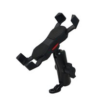 Wholesale Motorcycle Universal Phone Mount - Universal Cell Phone Holder Phone Mount Retractable Grip For Motorcycle Mirror Handle Microscope Base Within 10mm KPH-UX-9-J