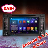 "Wholesale Dvd 3g Touareg - 7"" Android 5.1 DVD GPS DAB+ VW TOUAREG T5 Multivan Stereo Radio 3G Wifi BT DVR DTV-in Mirror Link"