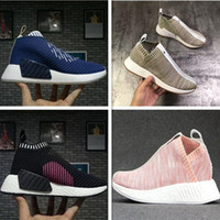 Wholesale Socks Buttons - 2017 Boost Socks Shoes x Naked x Kith Mens & Women Running Shoes NMD PK CS2 Top Boost Casual Running Shoes