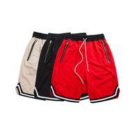 Wholesale Loose Harem Sweatpants - Wholesale- Men Shorts Net breathable Fear Of God Sweatpants Justin Bieber Harem Shorts loose Kanye West Men Trousers Shorts