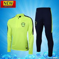 Wholesale America Suit Jacket - 2017 Mexico Club America chandal survetement 17 18 Thai Quality O.PERALTA training suit Jacket 17 18 Football Tracksuits jersey Shirts