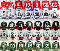 Wholesale Andrew Shaw Jersey - Youth Chicago Blackhawks Jerseys Hockey 2 Duncan Keith 19 Jonathan Toews 65 Andrew Shaw 81 Marian Hossa 88 Patrick Kane Jersey Kids