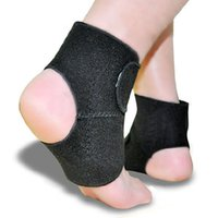 Wholesale Thermal Brace - 2pcs Magnetic Therapy Thermal Self-Heating Ankle Pad Belt Ankle Support Brace Protector Health-Care Item