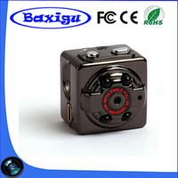 Wholesale Sport Small Hd Camera - HD 1080P Sport Spy Mini Camera SQ8 Mini DV Voice Video Recorder Infrared Night Vision 720P Digital Small Cam Hidden Camcorder