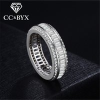 CC Unique <b>Ladies Jewelry Rings</b> Per le donne Matrimonio Ringen Bijoux Femme Fidanzamento Anello di fidanzamento Accessori Drop Shipping CC706